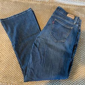 Levi's Ladies Curvy Boot Cut Jeans Size 12